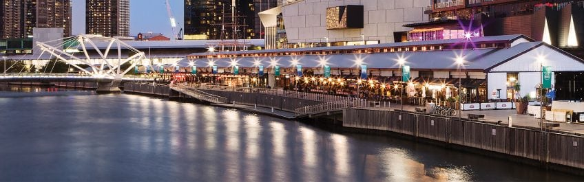south wharf promenade