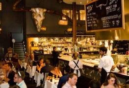 south wharf restaurants